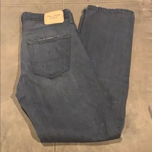 Men's Abercrombie & Fitch Button Fly 28x30 Jeans